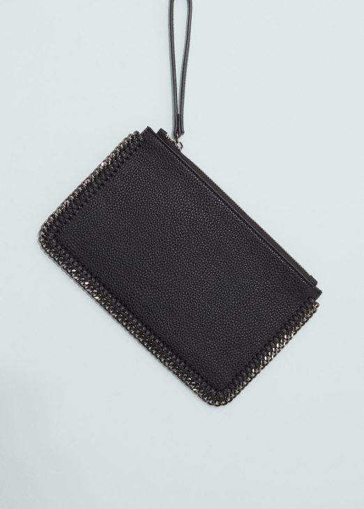 Mango Chain Pebbled Envelope bag