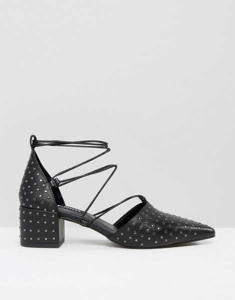 senso gabriella black leather