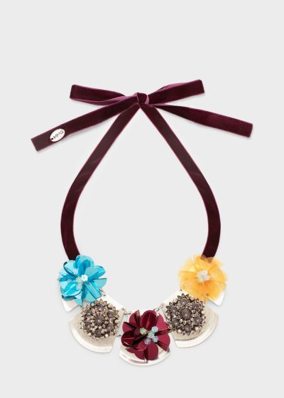 flower mango necklace